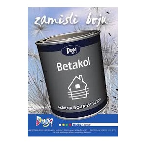 Betakol akrilna boja za beton